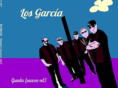 """CD100T (CD-R)  LOS GARCÍA """"Grandes fracasos Vol. 1"""""""