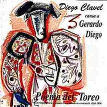 """CD009F (CD-R)  DIEGO CLAVEL""""Poema del Toreo"""""""