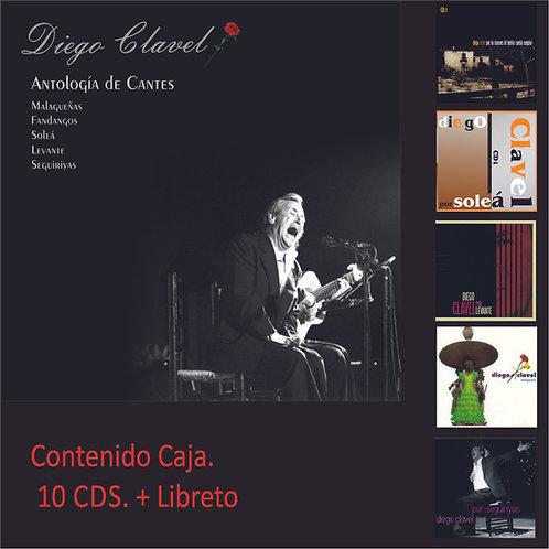 """KAR7603 DIEGO CLAVEL """"Antologia de cantes"""""""