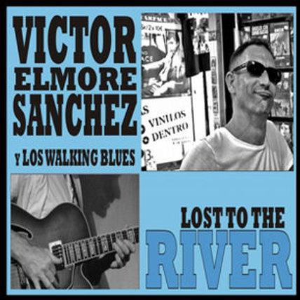 """CD096T (CD-R)  VICTOR SÁNCHEZ """"ELMORE"""" Y LOS WALKING BLUES"""