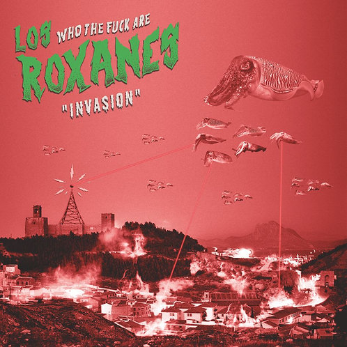 """CD120T  LOS ROXANES """"Invasión"""""""