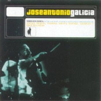 """CD016F  JOSE ANTONIO GALICIA """"Tres en Raya"""""""