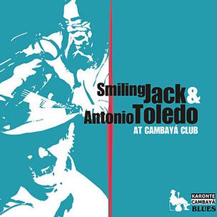 "CK6105  SMILING JACK & ANTONIO TOLEDO  ""Live at Cambayá Club"""