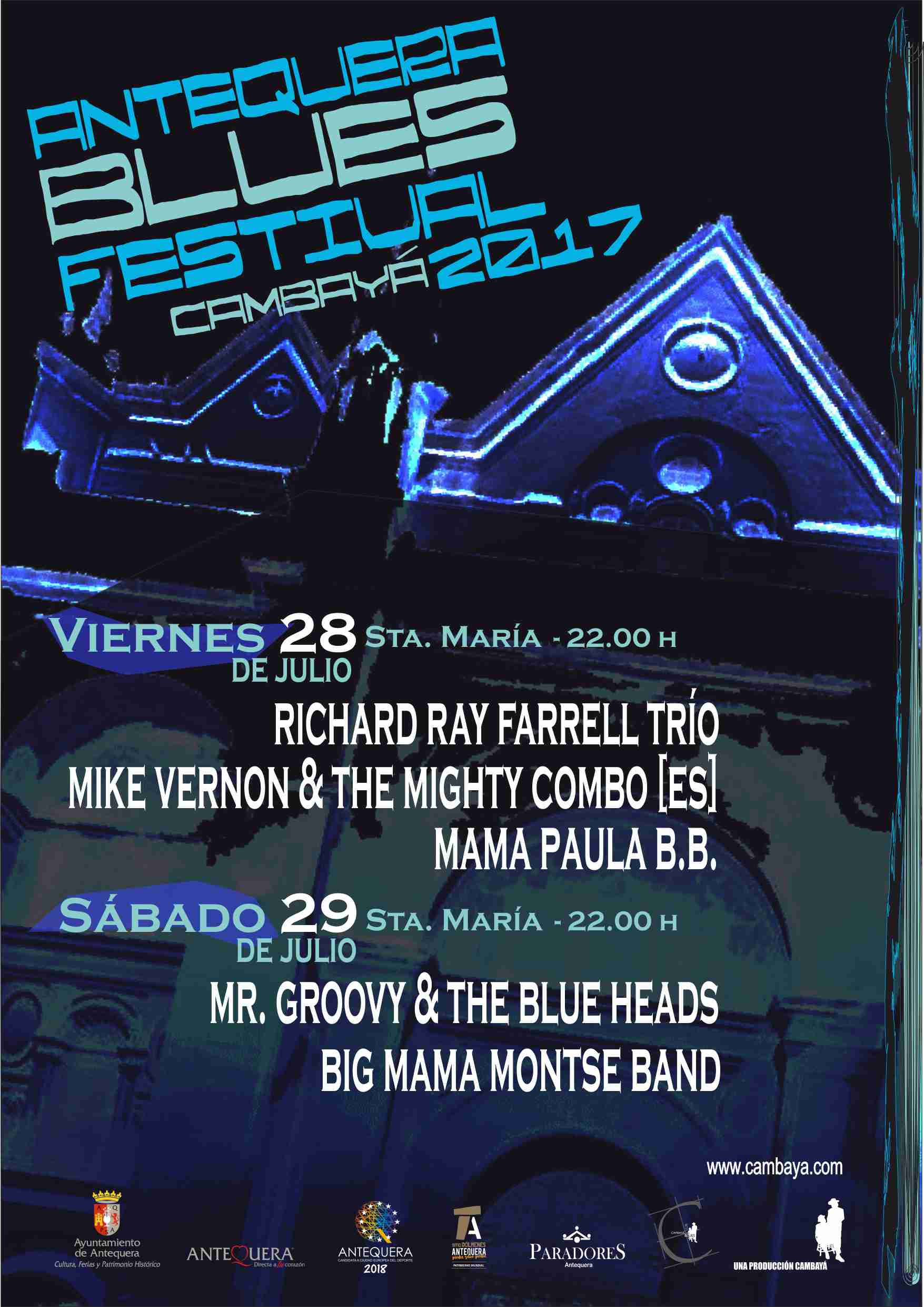 ANTEQUERA BLUES FESTIVAL 2017