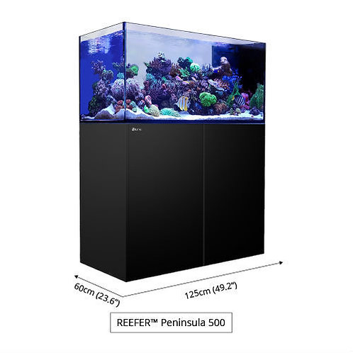 Reefer Peninsula P500 Deluxe - 132 Gallon Complete System w/3 Hydra 26 HD-