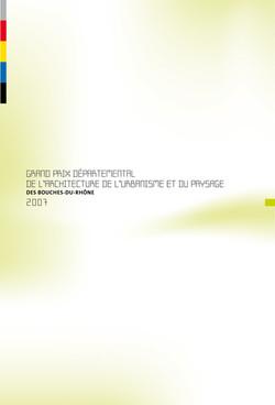 Lauréat Prix CAUE 2007