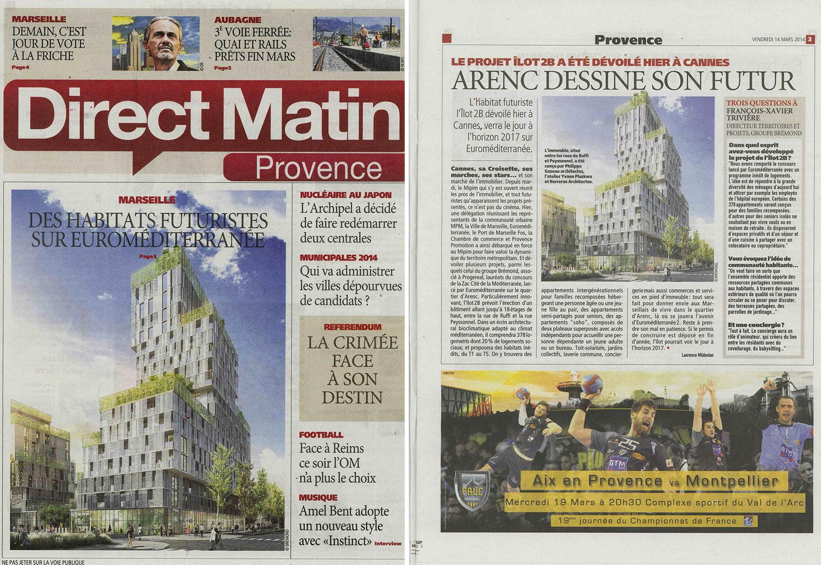 Direct Matin - Mars 2014