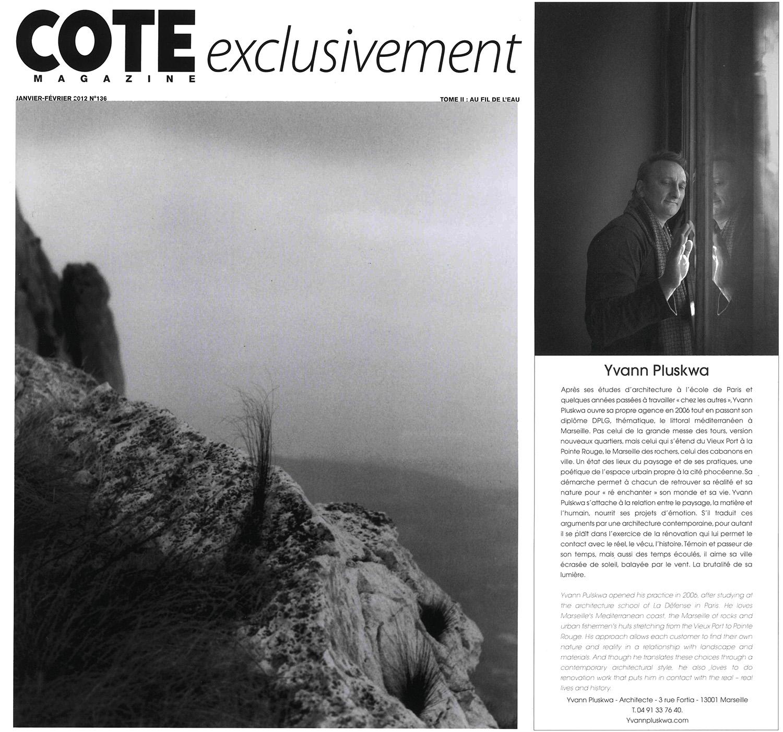 Cote Magazine - Février 2012