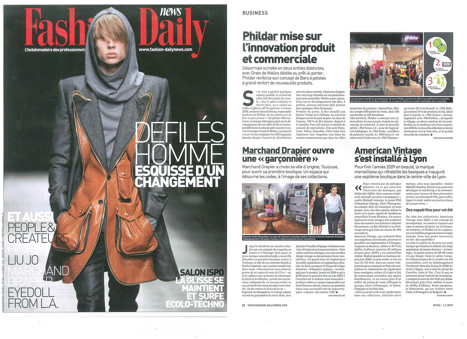 Fashion Daily News - Février 2010