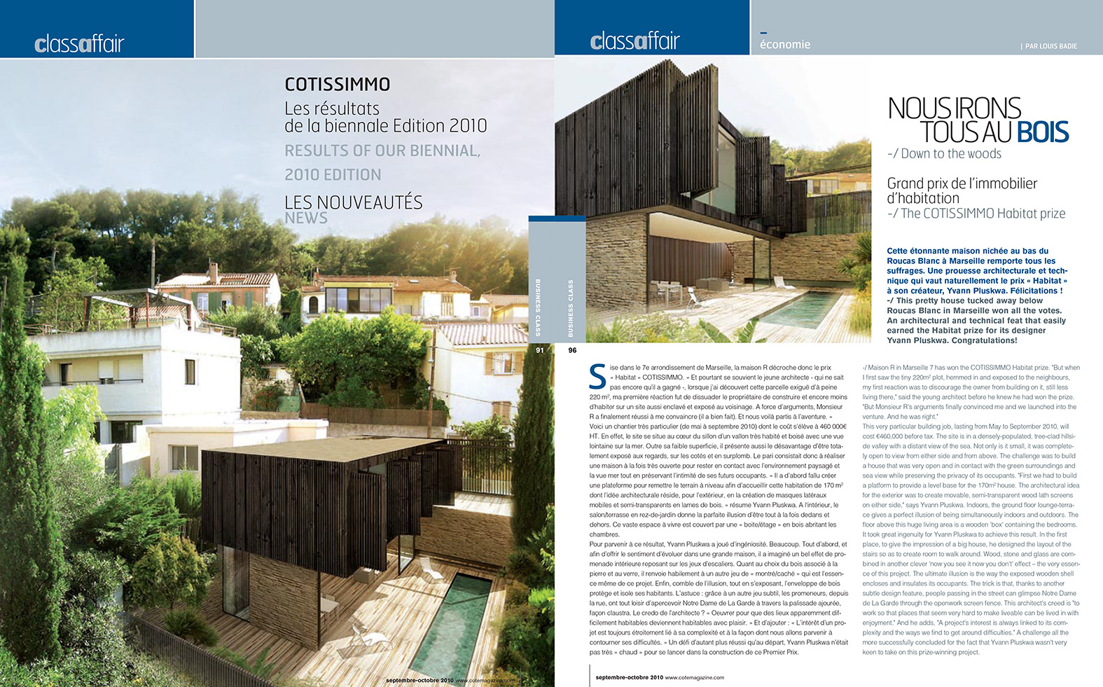 Cote Magazine - Sept Oct 2010