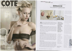 Cote Magazine - Novembre 2012