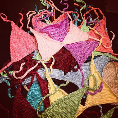 Crochet bikinis in all colors and sizes