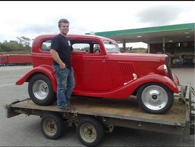 1934 English Ford Model Y Tudor Sedan