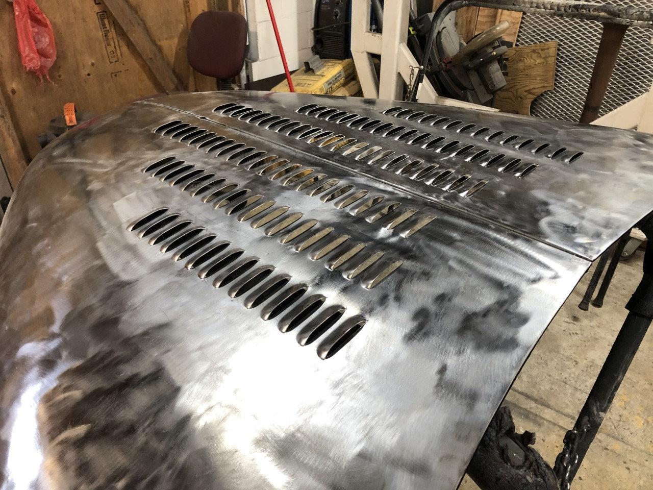 custom louver work
