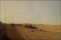 Entering the Highway of Death, Western K