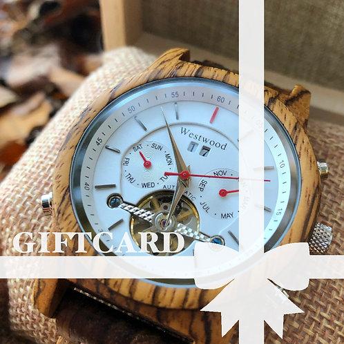 Gift Card Design Watch I