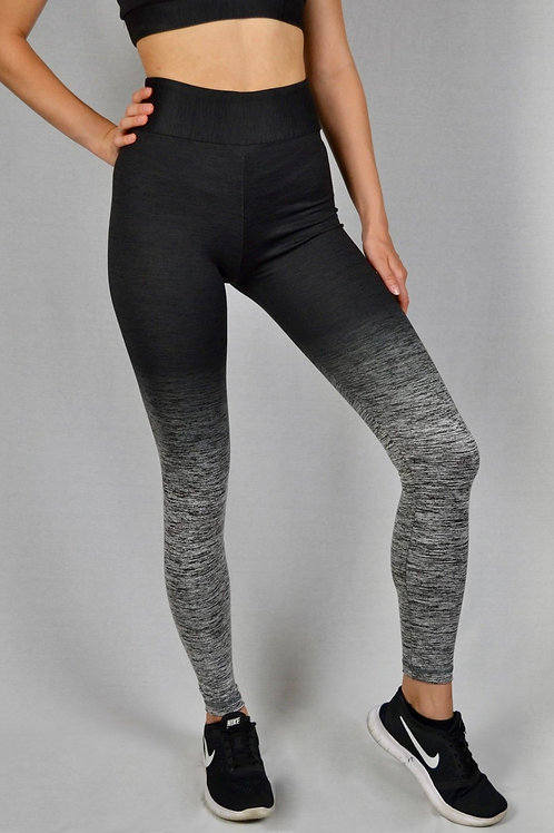Color Transition Leggings Black/Grey