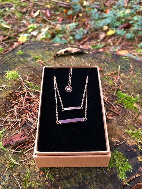 Westwood Necklace Rose Gold Stick