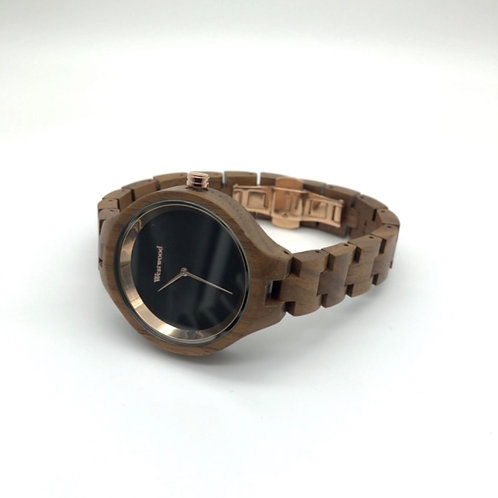 Gold Autumn Watch - Brown/Black