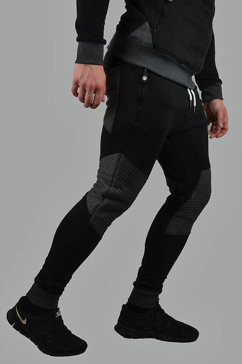 Slim-Fit Hyper Joggers Black/Anthracite