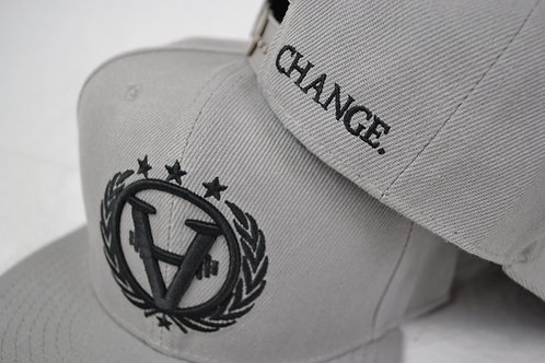 TEAMCHANGE Snapback Space Grey