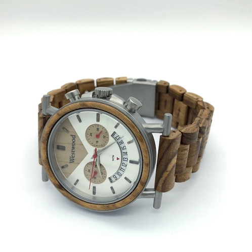 Hawaii Watch Wood - Metal