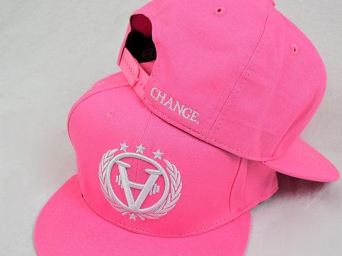 TEAMCHANGE Snapback Pink