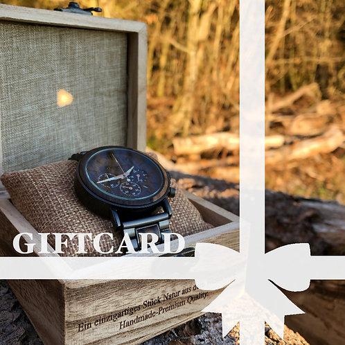 Gutschein Design Uhr III