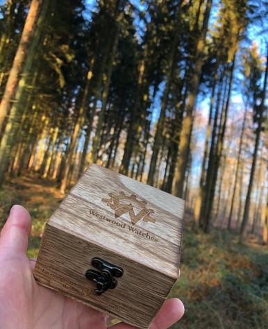 Westwood Holzkiste im Westerwald