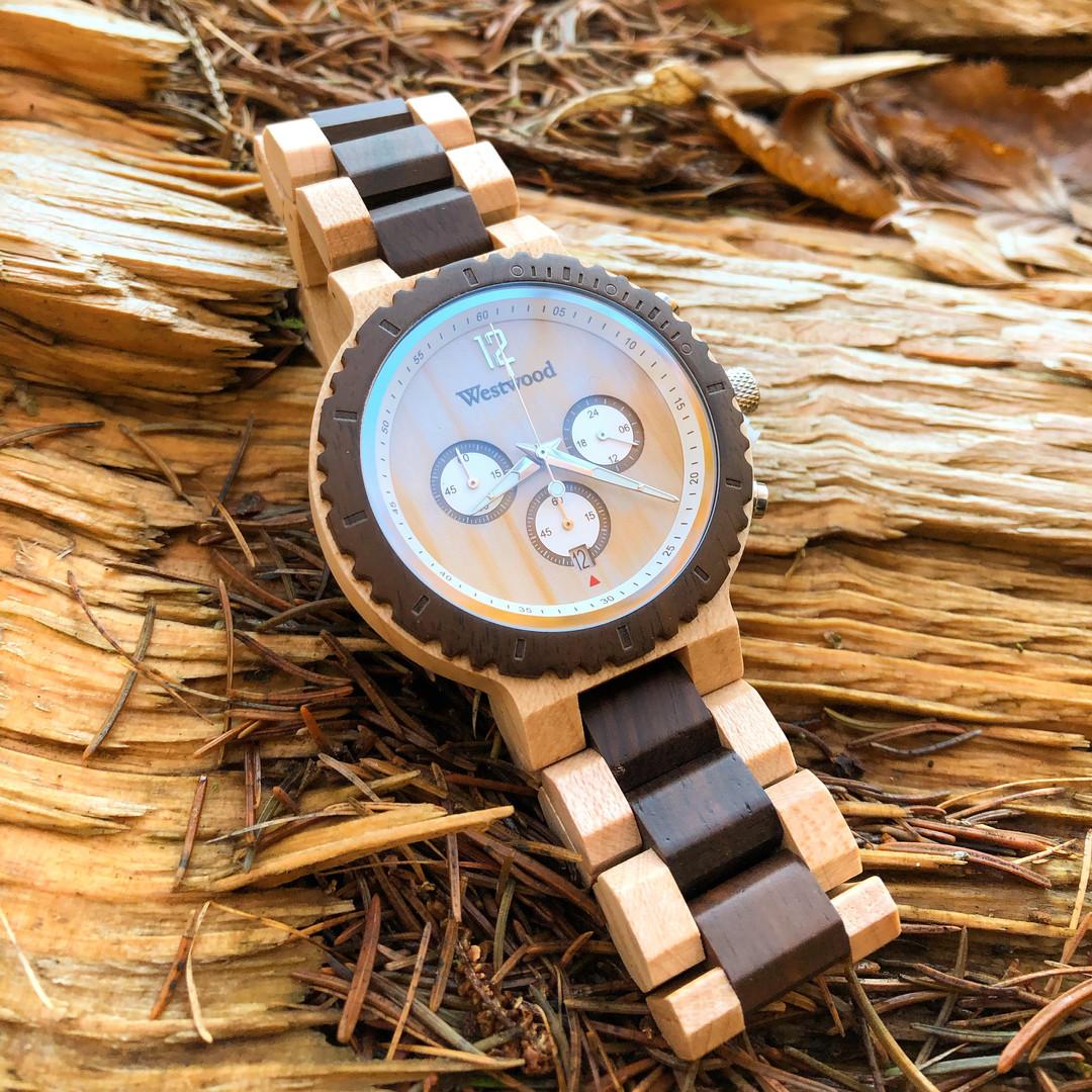 Westerwald Westwood Watches Holzuhr