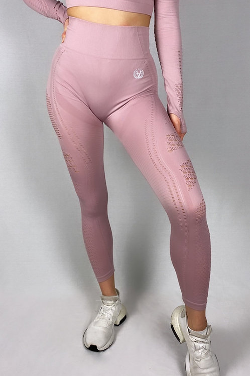 New Generation Seamless Leggings French Rose