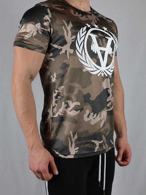 Solid Army Shirt Brown