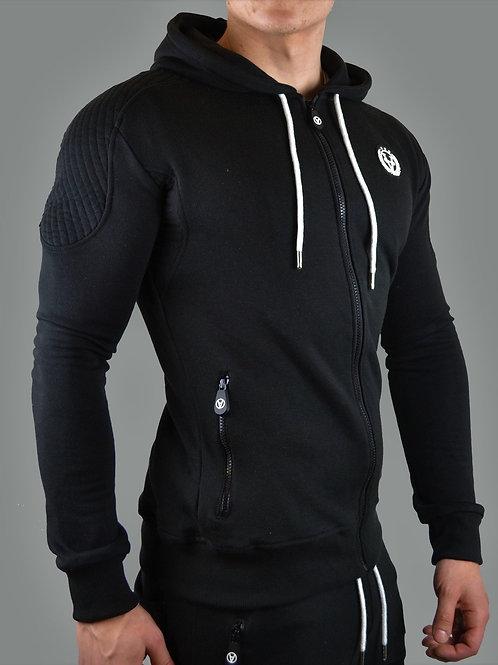 Slim-Fit Hyper Zipper All Black