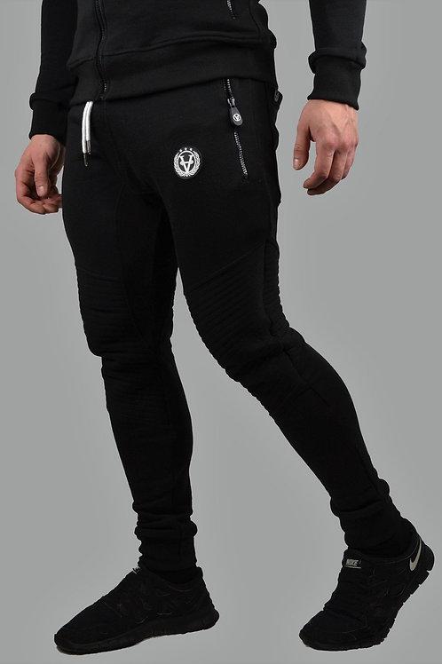 Slim-Fit Hyper Joggers All Black