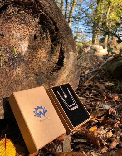 halskette holzkette nachhaltig umweltfreundlich westerwald