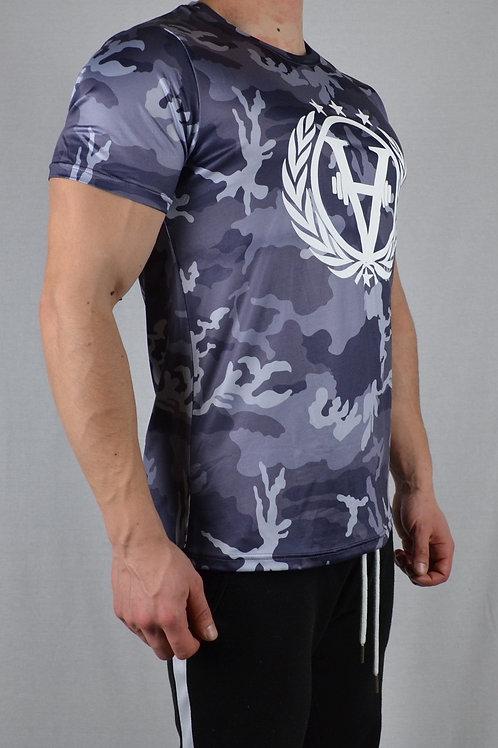 Solid Army Shirt Grey