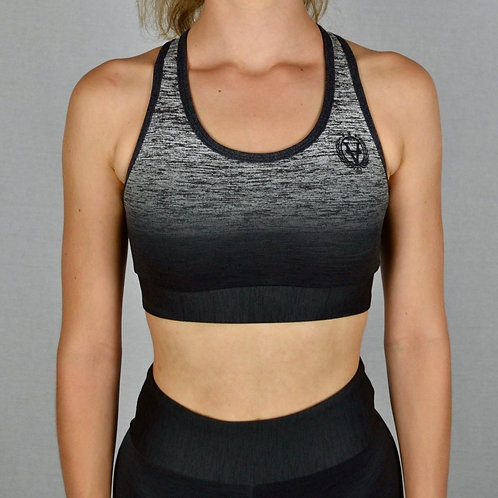 Color Transition Sports Bra Black/Grey