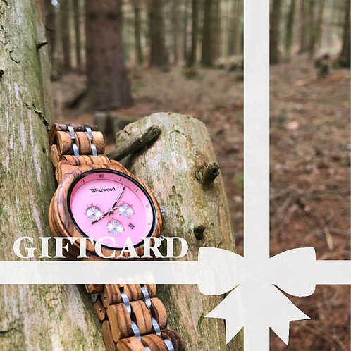 Gift Card Design Watch II