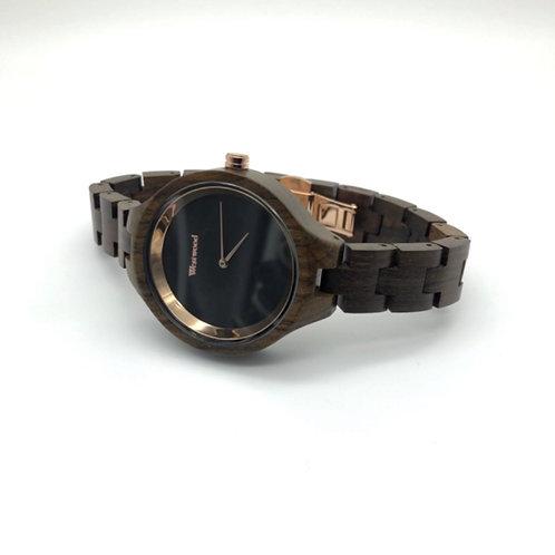 Gold Autumn Watch - Black/Black