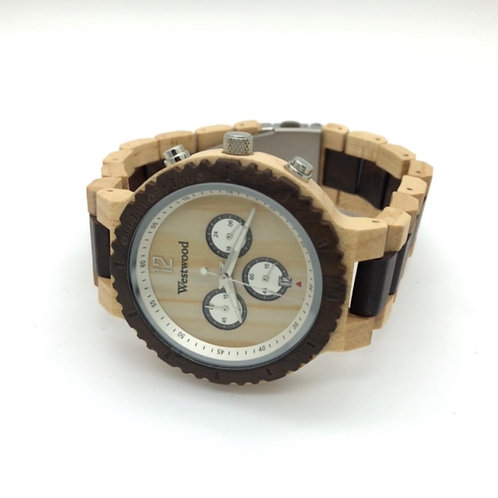 Brightly Dark Watch Maple/Ebony Wood