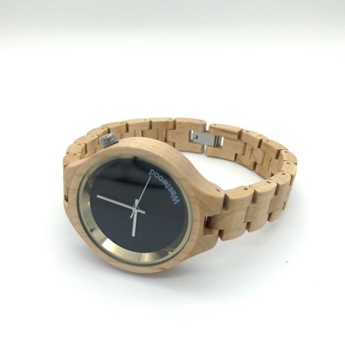Universe Watch Maple Wood
