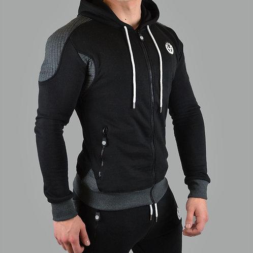 Slim-Fit Hyper Zipper Black/Anthracite