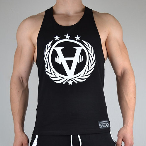 Luxury Stringer Black/White