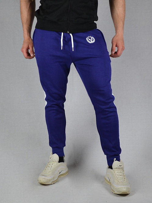 Striped Joggers Midnight Blue/White