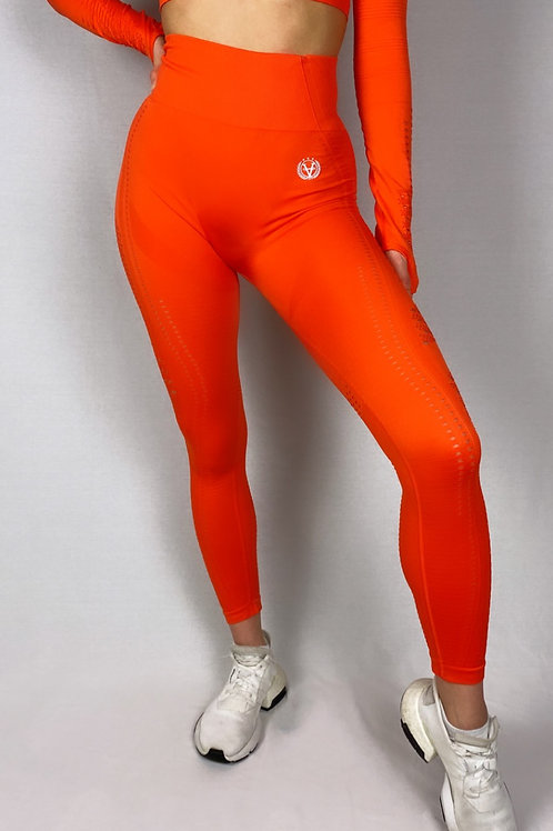 New Generation Seamless Leggings Shiny Orange