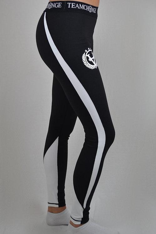 Luxury Leggings Black/White