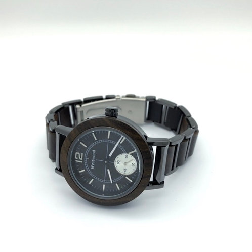 Cute Women Watch Midnight Black
