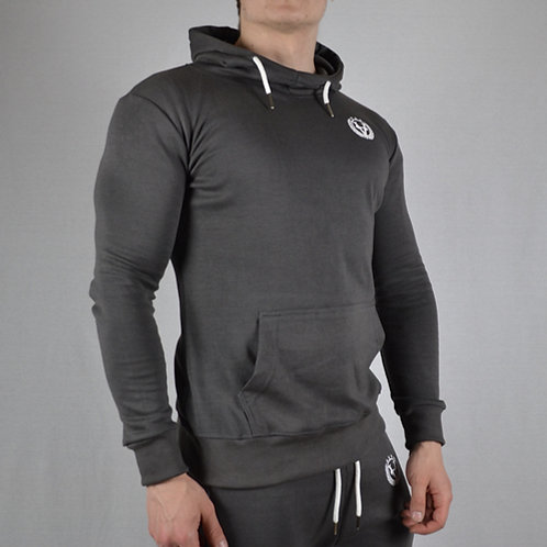 Performance Hoodie Anthracite Grey