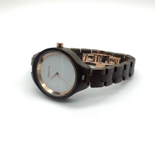 Gold Autumn Watch - Black/White
