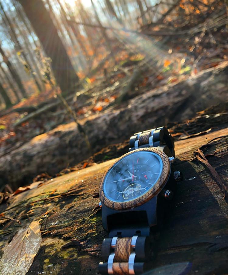 Sonnenuntergang Mechanische Uhr Automatik